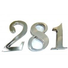 Números e Letras em Inox ( 15 Cm )