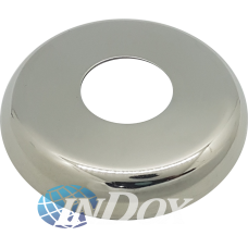 "Canopla Oval Inox 304 Polido 1/2"" ( 43 Mm Externo)"